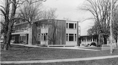 Popham Lodge 1957 - demolished in 1984. Easter Seals Camp Merrywood