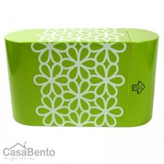 Oh my, this is quite cute.  Hanahana Mini Bento Unit Colors Green