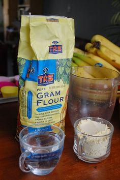 Echt Eten, Puur Koken: Pannenkoek van kikkererwtenmeel