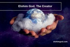 Elohim God created the heavens and the earth by only his word. The word of God is living and active. So he just said and that is achieve.