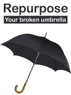 How to recycle old umbrellas