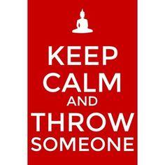judo - keep calm