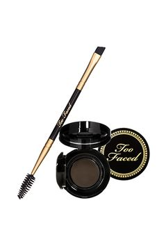 Bold brows that don't budge, no matter how sweaty our forehead gets? Too Faced Bulletproof Brows, available at Sephora. All Things Beauty, Beauty Make Up, Too Faced Cosmetics, Makeup Cosmetics, Beauty Secrets, Beauty Hacks, Beauty Products, Makeup Products, Makeup Goals