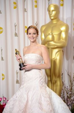Congratulations Jennifer Lawrence on winning the Oscar for Best Actress at the 85th Annual Academy Awards!