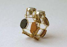 Ringkunst in Weimar / Online Magazine / Art Aurea Rock Jewelry, Jewelry Rings, Unique Jewelry, Jewellery Exhibition, Quartz Jewelry, Schmuck Design, Contemporary Jewellery, Magazine Art, Art Forms