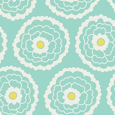 Items similar to Large Vintage Floral on Aqua Fabric - Girl About Town in Mint by Pat Bravo for Art Gallery - Fabric By the Half Yard on Etsy Aqua Fabric, Fabric Birds, Floral Fabric, Stash Fabrics, Seafoam Color, Art Gallery Fabrics, Cotton Quilts, 3 D, Essentials