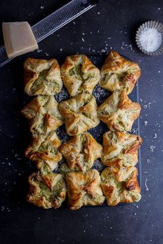 Broccoli cheese puffs. #appetizer #starter #vegetarian #pastry #broccoli