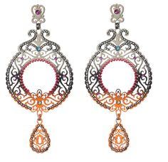 earrings Crochet Earrings, Bohemian, Pairs, Drop Earrings, Jewels, Jewellery, Crystals, Chic, Shabby Chic
