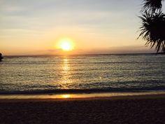Sunrise, Nusa Dua Bali Indonesia