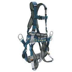 DBI ExoFit XP Tower Climbing Harness. Climbing Harness, Rock Climbing, Tower Climber, Body Systems, Climbers, Gears, Safety, Accessories, Clothes