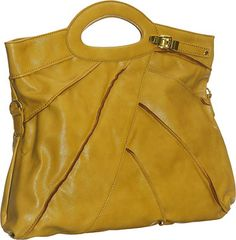 Mustard purse.  I think I'm in love!