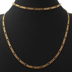 6MM Men Chain 18K GoldRose GoldPlatinumBlack Plated Hiphop Men