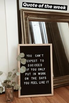 You can't expect to succeed if you only put in work on the days you feel like it This stepped on all my toes! Words Quotes, Wise Words, Me Quotes, Motivational Quotes, Inspirational Quotes, Sport Quotes, Wisdom Quotes, Great Quotes, Quotes To Live By