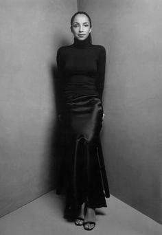 Sade Adu (2000) Photo by Patrick Demarchelier