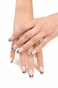 Déco ongles gel transparents