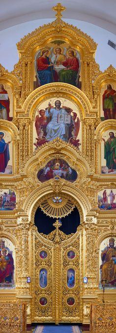 Щигровский иконостас. Иконостас храма Рождества Пресвятой Богородицы, Курская-Коренная пустынь