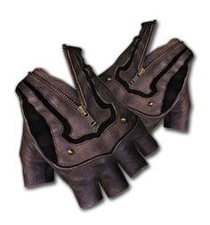Steam Trunk Moto Gloves