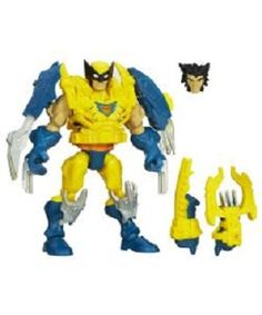 #Marvel electronic #super hero mashers - #wolverine figure,  View more on the LINK: 	http://www.zeppy.io/product/gb/2/401231506838/