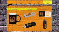 Propuesta para cliente real: AC3D centro de entrenamiento Crossfit en León. Página con propuestas de Merchandising: http://ac3d.esy.es de Álvaro Dinten, Promoción 2013-15 de Carrera Técnico en Diseño Visual