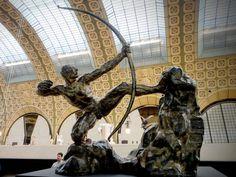 Na Janelinha para ver tudo: Conheça o belo acervo de esculturas do Musée D'Ors...