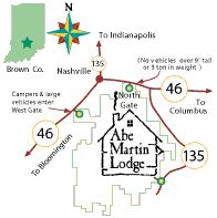 Abe Martin Lodge - Indiana, Brown County State Park