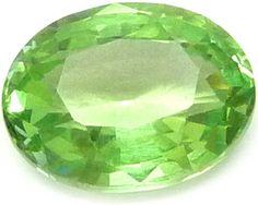 Tanzanian Mint Garnet / Grenat Menthe de Tanzanie 2.54ct - http://www.gems-plus.com/gemmes/grenat-menthe