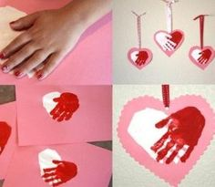 Cute for students to make for their family. Easy Handmade Valentines day card photos. by Maiden11976