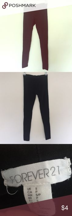 Forever 21 leggings These are a size small and are in great condition! Perfect for this fall season. Forever 21 Pants Leggings