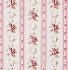 Libby Pink Tanya Whelan Lulu Roses fabric material by metre craft cotton PWTW095