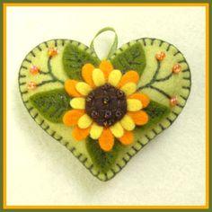 wool sunflower
