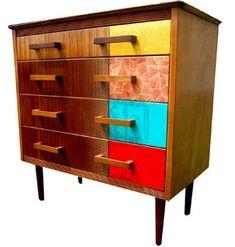 Upcycled vintage furniture  - ovvero cassettone della nonna rivisitato.