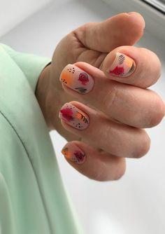 Colorful Nail Designs, Acrylic Nail Designs, Colorful Nails, Fabulous Nails, Perfect Nails, Picasso Nails, Clear Acrylic Nails, Tribal Nails, Nail Jewels