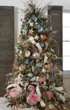 39 Best Beach Theme Christmas Tree Images Coastal