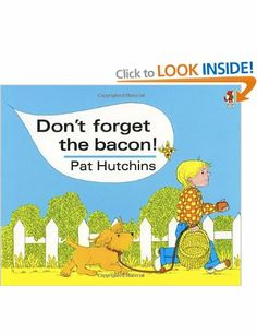 Don't Forget The Bacon (Red Fox Classics): Amazon.co.uk: Pat Hutchins: Books
