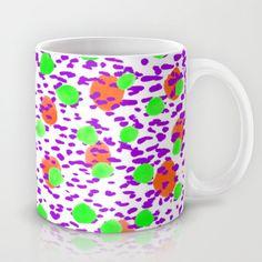 Polka Dot Orange Mug