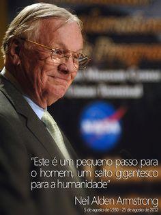 Morre o astronauta Neil Armstrong, primeiro homem a pisar na Lua