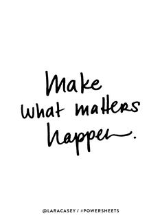 Make the right things happen in 2018 with #CultivateWhatMatters