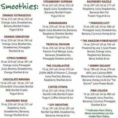All about Smoothies Yummy Smoothies, Breakfast Smoothies, Yummy Drinks, Healthy Drinks, Healthy Snacks, Healthy Recipes, Fun Drinks, Healthy Eats, Vegetarian Recipes