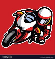Resultado de imagem para racing mascot vector illustration