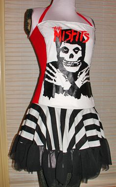 cute misfits outfits | misfits stripe dress by ~smarmy-clothes on deviantART