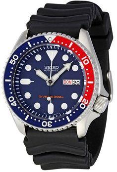 Best seiko under 500 -Seiko Men's SKX009K1 Blue Dial Divers Watch