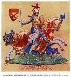 Arms of Robert Bruce, King of Scotland
