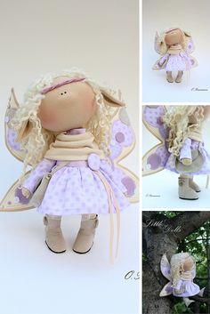 Cloth doll, handmade doll, art doll, decor doll, baby doll, tilda doll, textile doll