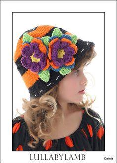 Hermoso gorro a crochet