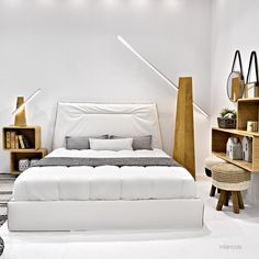 Unique simplicity in a friendly design. The Amadeo bed will give your bedroom a unique sense of relaxation and high aesthetics. #milanode #furniture #bedroom #bed #kingsize #superkingsize #boho #minimal #timeless #unique #quality #design #decoration Bedroom Bed, King Size, Beds, Minimalism, Aesthetics, Relax, Decoration, Unique, Furniture