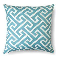 Oversized Greek Key Throw Pillow – Threshold™. Image 1 of 1.