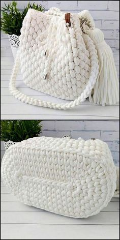 50 Versatile And Unique Free Crochet Patterns - Crochet market bag free pattern - 50 Versatile And Unique Free Crochet Patterns Snow White Bag Free Crochet Pattern Free Crochet Bag, Crochet Market Bag, Crochet Gifts, Crochet Bags, Crochet Diy, Crochet Ideas, Unique Crochet, Crochet Beret, Beaded Crochet