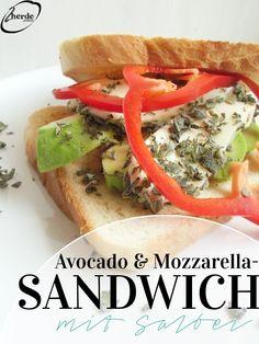 2Herde.com - Avocado-Mozzarella-Sandwiches mit Salbei