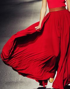 red skirt- yes please!
