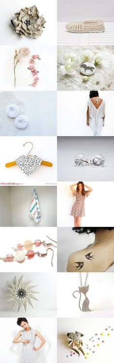 Almost White by Georgia on Etsy--Pinned with TreasuryPin.com
